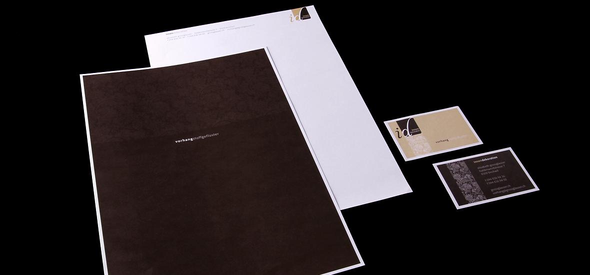 Innendekoration elisabeth grossglauser briefpapier for Innendekoration winterthur