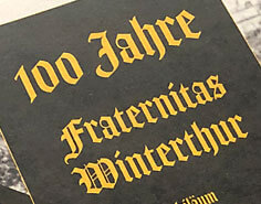 100 jahre fraternitas winterthur | chronik