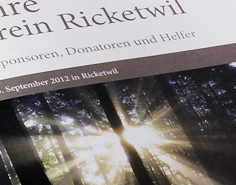 ortsverein ricketwil | chronik